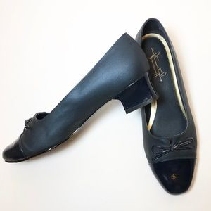 Soft Style by Hush Puppies Low Heel Navy Blue